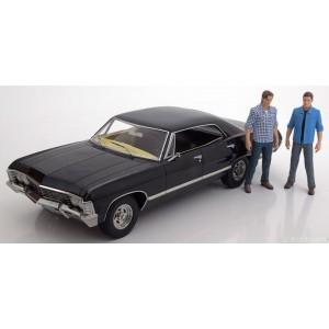 Macheta auto Masina Supernatural 1/18 1967 Chevrolet Impala Sport Sedan GL19021 Supernatural Automachete