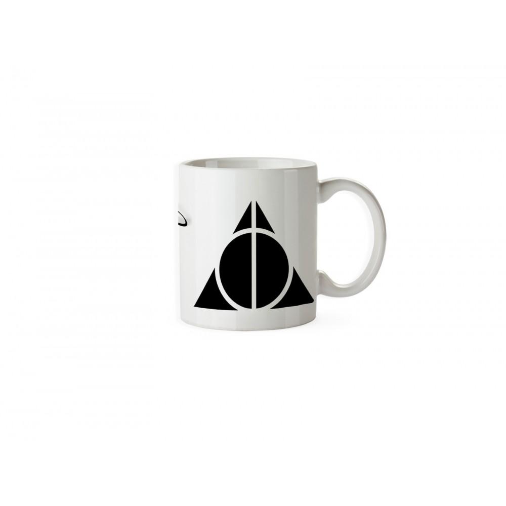 Cana Harry Potter Deathly Hallows Triangle Always , 330ml mug56 Harry potter Cani