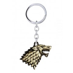 Breloc Game Of Thrones Wolf Lup Winter Is Coming Stark Bronze M2 zum327 Game of Thrones Brelocuri