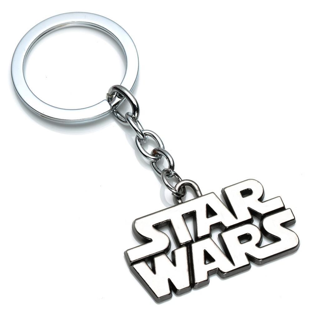 Breloc Star Wars Logo Argintiu zum230 Star Wars Brelocuri