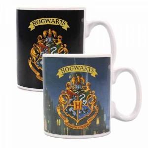 Cana Termosensibila Harry Potter - Hogwarts Crest , 400ml HMB-MUGBHP36 Harry Potter Cani