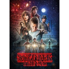 Puzzle Stranger Things Sezonul 1 , 1000 piese , 69x50cm 8005125395422 Stranger Things Puzzle