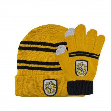 Set Caciula Fes Harry Potter + Manusi Harry Potter Hufflepuff - Originale CR1324 Caciuli