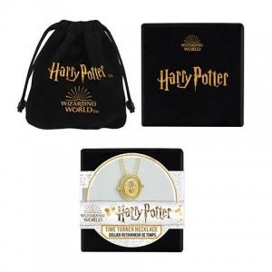 Lantisor Cu Pandantiv Harry Potter Time Turner Clepsidra + Cutie Cadou 4895205604629 Harry Potter Medalioane Harry Potter