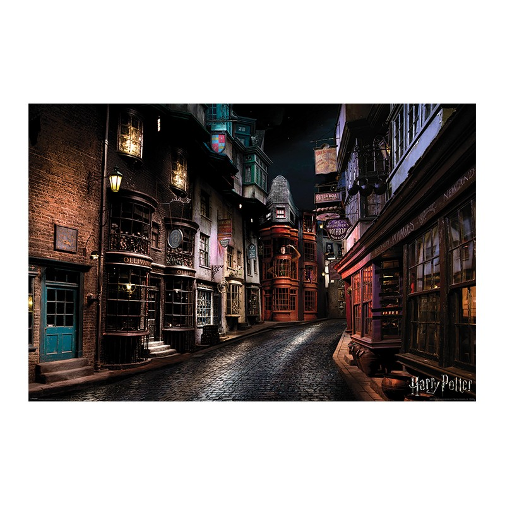 Poster Harry Potter Diagon Alley , 61x91.5cm