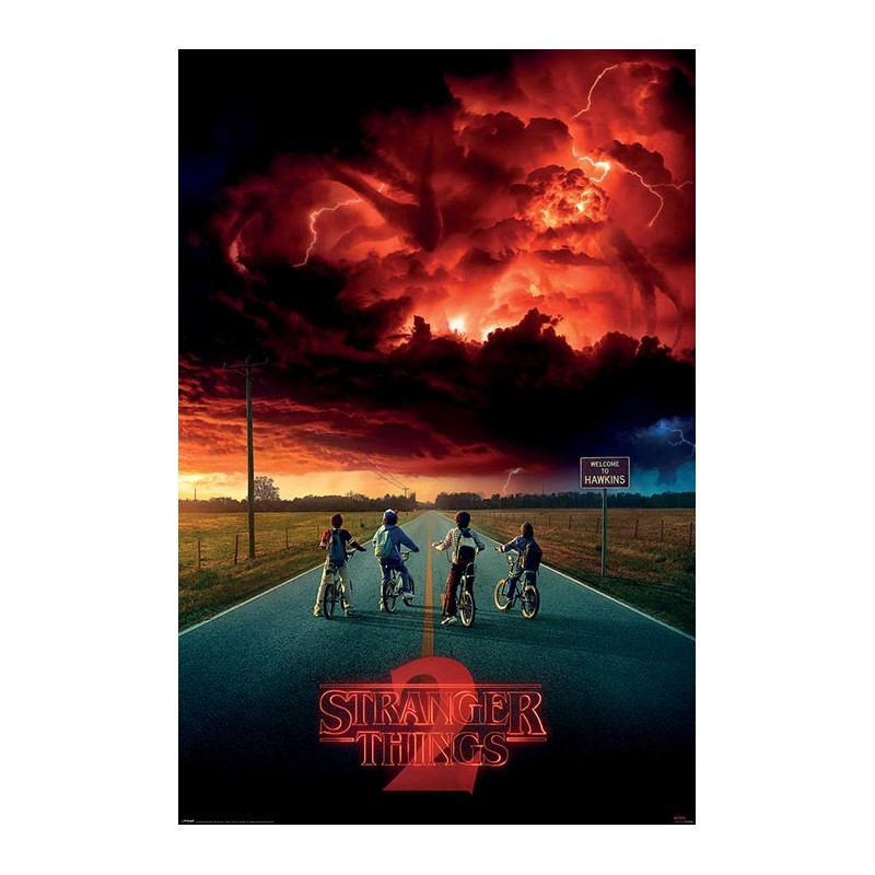 Poster Stranger Things Mind Flayer , 61x91.5cm