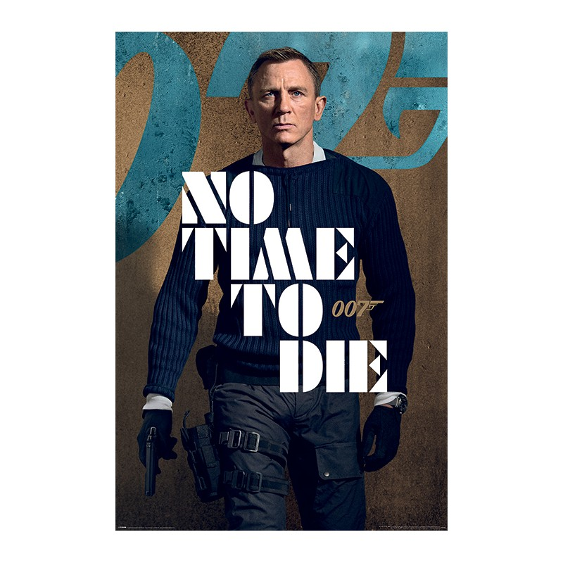 Poster James Bond No Time To Die - James Stance , 61x91.5cm