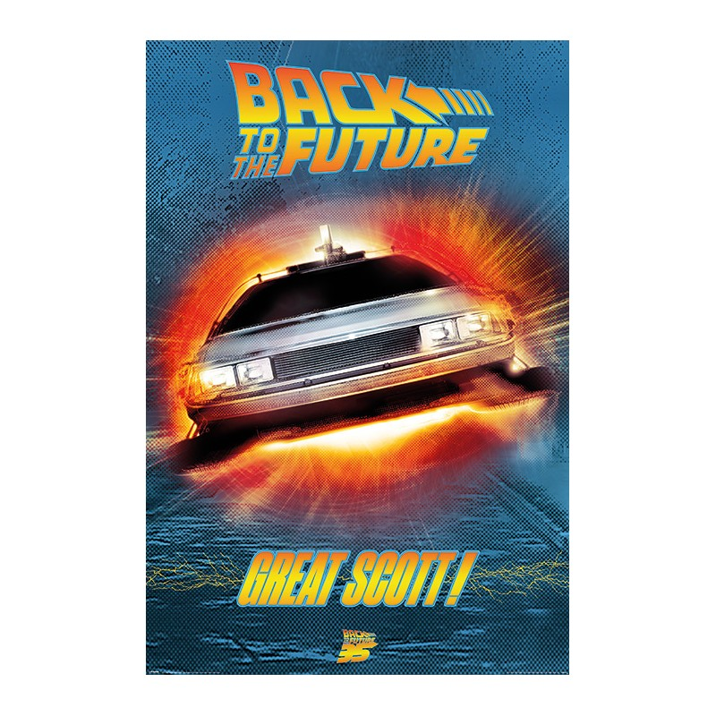 Poster Back to the Future - Great Scott ! , 61x91.5cm