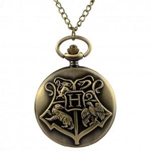 Lantisor Cu Pandantiv Ceas Harry Potter Hogwarts School , 4.5cm m22 zum5101 Harry Potter Ceasuri