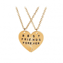 Set Medalioane Lantisoare Best Friend Friends Forever Inima 223 Best Friends