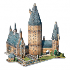 Puzzle 3D Harry Potter Hogwarts - Great Hall - Original W3D2014 Harry Potter