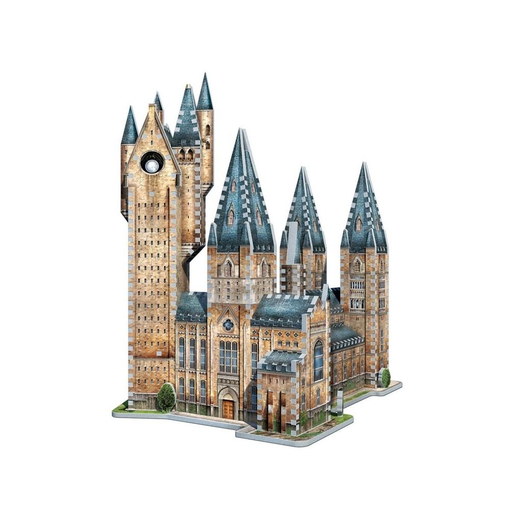 Puzzle 3D Harry Potter Hogwarts - Astronomy tower 875 piese - Original W3D2015 Harry Potter Puzzle